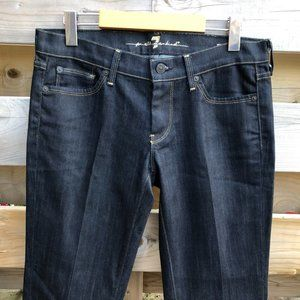 7 FOR ALL MANKIND gold digger straight jeans NWOT